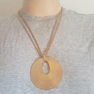 Jewelry - Medallion necklace.